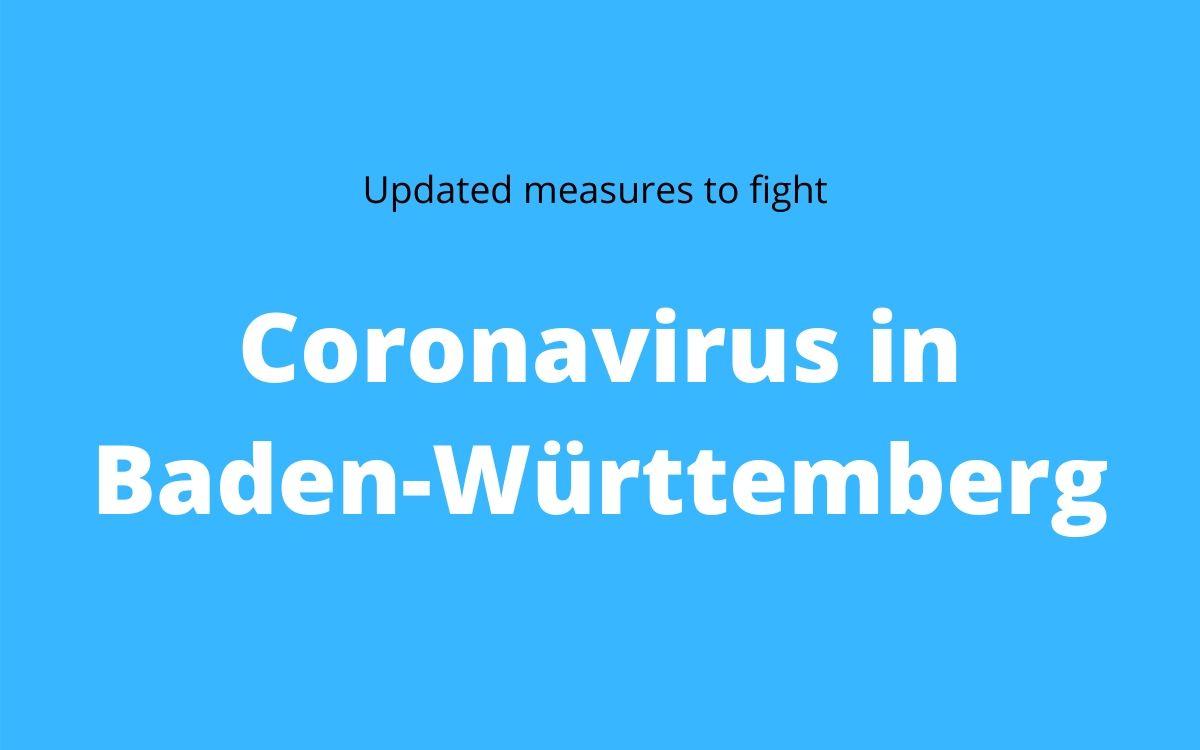 Coronavirus in Baden-Württemberg