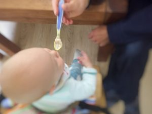 Introducing solid food to your baby the German way