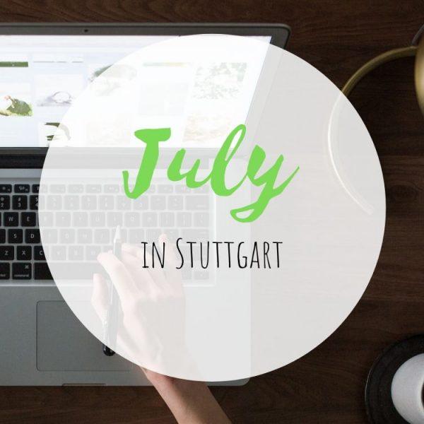 July in Stuttgart Corona