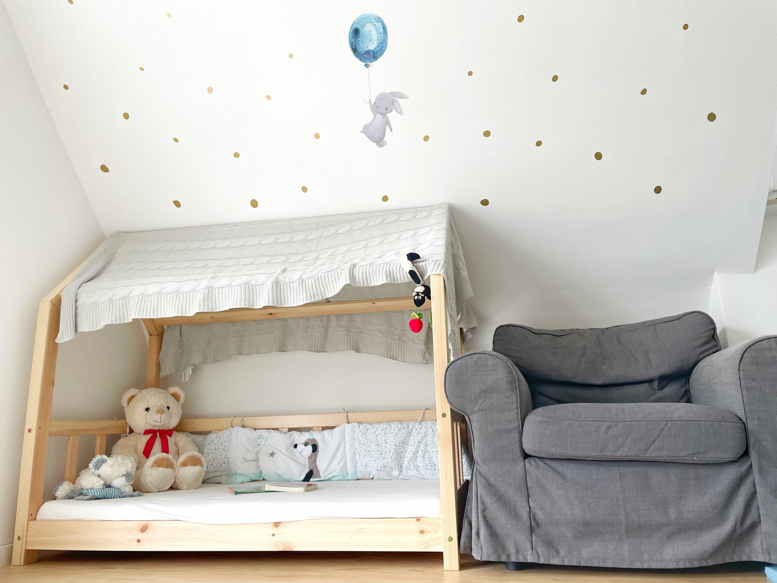 German kids room bed
